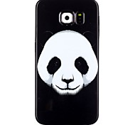 Panda Pattern TPU Phone Case for  Galaxy S6/Galaxy S6 edge/Galaxy S6 Edge Plus/Galaxy S5