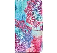 Safflower Painted PU Phone Case for Sony Xperia Z5 Compact