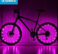 Luces para bicicleta , luces de la rueda / Luces para bicicleta - 2 Modo 200 Lumens A Prueba de Agua / Recargable / Fácil de llevar AAA x