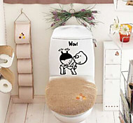 Stickers Toilet / Bathtub / Shower / Medicine Cabinets Plastic Multi-function / Eco-Friendly / Cartoon / Gift