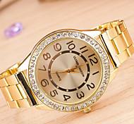Woman And Men Diamond Wrist Watch
