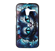 Mechanical Cat Pattern PC Hard Cover Case for Motorola  MOTO X