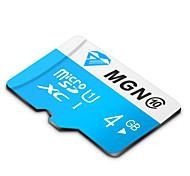 mgn original de la clase 10 4gb micro sdhc sd tf tarjeta de memoria flash de alta velocidad verdadera