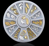 Jóias de Unhas - Desenho Animado / Adorável - para Dedo - de Metal - com 1 - 6x0.7 - (cm)