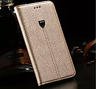2015 New Litchi Grain PU Leather Flip Wallet Case for Apple iPhone 5/5S Phone Cases with Stand Cover Back