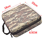 Camouflage EVA Middle Case for GoPro HERO4 /3+ /3 /2 /1 Mini Portable Outdoor Package Bag