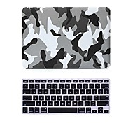 "2 in 1 Matte Surface Crystal Rubberized Hard Case Cover for Macbook Pro 13""/15""+Keyboard Cover"