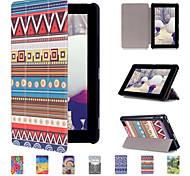 Most Distinctive PU Leather Flip Case for Amazon Kindle New Fire 7