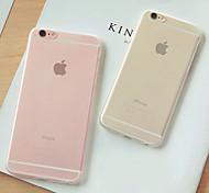 istreet® ультратонкий скраб розовый девочка ПК жесткий чехол чехол для iphone 6с 6 плюс