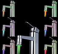 cuisine colorée évier adaptateur universel conduit buse robinet (changement de couleur automatique)