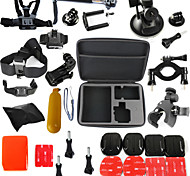 Accessory Kit For Gopro Waterproof Floating ForAll Gopro Xiaomi Camera Gopro 5 Gopro 4 Session Gopro 4 Gopro 3 Gopro 3+ Gopro 2 JVC
