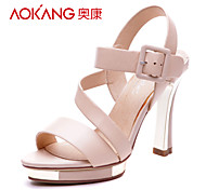 Aokang® Women's Leather Sandals - 342818032