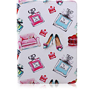 Perfume  Pattern  Stent Case for iPad Air