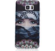 nuove ondate modello ragazza scivolare maniglia TPU soft phone per Samsung Galaxy Note 5/4/3