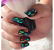 12PCS Star Stickers with Glue Nail Shining Decoration