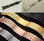 Premium Version Watch Band Length-Detachable Stainless SteeBracelet Arc edge Buckle Watch Band for Apple Watch 42mm 38mm