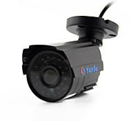 yanse® 1100tvl 2.8mm 1/3 CMOScctv Outdoor / Indoor wasserdicht Infrarot-Überwachungskameras d / n