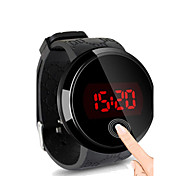 Da uomo Orologio da polso Digitale LED / Touchscreen / Resistente all'acqua Silicone Banda Nero Marca-