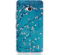 Dongmei Flower Pattern Material TPU Phone Case for Nokia N640