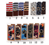 Ring Pattern High Quality PU Wallet Leather Back Cover for iPhone 6/iPhone 6S(Assorted Colors)