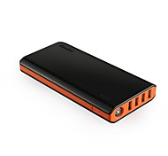 EasyAcc 20000mAh Portable Power Bank External Battery Charger with 4 USB Ports