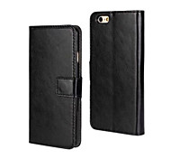 Crazy Horse Pattern Business PU Leather Flip Case for iPhone 6/6S(Assorted Colors)