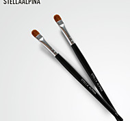 Stellaalpina Eyeshadow Brush Weasel / Nylon MAC Makeup Style Professional / Portable Wood Eye
