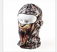 Skeleton Riding a Bicycle Outdoor Ski Mask Headgear Quick-drying UV Swim dust face Gini