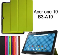 cas de la tablette de protection étuis en cuir support étui pour Acer One -A10 10 b3