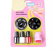 Nail art printing kit(7pcs/set)