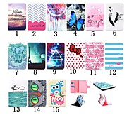 7.9 Inch High Quality PU Wallet Leather Stand Case with Card Slot for iPad Mini 4(Assorted Colors)