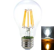 Lampadine globo LED 8 COB 无 A60(A19) E26/E27 16 W Decorativo 1450 LM Bianco caldo / Bianco 1 pezzo AC 220-240 / AC 110-130 V