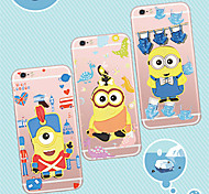 MAYCARI®Mr. Minions Changing Clothing TPU Back Case for iPhone 6/iphone 6S(Assorted Colors)
