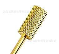1Pcs Manicure Golden Tool Grinding Head Plated High Quality Tungsten Carbide Grinding Tool