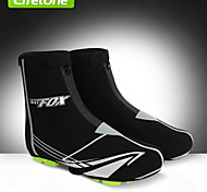 Shoe Covers/Overshoes Bike Waterproof / Thermal / Warm / Windproof Unisex Black Spandex