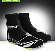 LIFETONE Cycling Shoe Covers Unisex Bike Waterproof / Windproof / Thermal / Warm Spandex Patchwork Black Free SizeCycling/Bike /