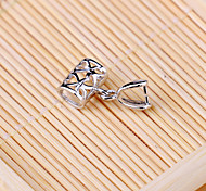 925 Sterling Silver Accessories Silver Pendant Locket Buckle