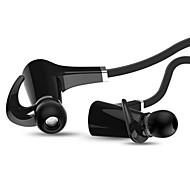 M7 fones de ouvido Bluetooth 4.0 no ouvido para esportes com microfone para telefones