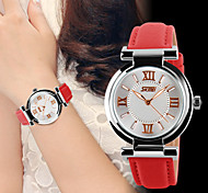 Ms. Fashionable Leather Belt Waterproof Watch Cool Watches Unique Watches