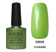 LUNDLE 09858 Soak Off UV Nail Gel Color Gel LED Manicure Gel Limeade