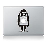 """diseño de dibujos animados mono adhesivo decorativo para el macbook 13 """"aire / pro"""