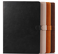12.9 Inch Genuine Leather Pattern High Quality Wallet Case for iPad Pro