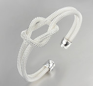 Hot Sale Noble Quality 925 Sterling Silver Bangles Party Daily Bangles For Woman&Lady