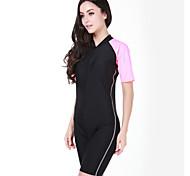 SBART Summer Anti-uv Short Sleeve Nylon Women Surfing Rashguard Swimming Suit Multi-colors