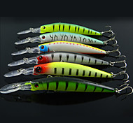 Anmuka Minnow Crank 14.7g 14.5cm 6pcs  Sea Fishing / Boat Fishing / General Fishing