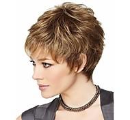 attraente marrone moda delle donne parrucca