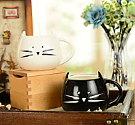 "300ml Ceramic Innovative Cat Pattern Cup,5.1""x4.3""x3.7"""