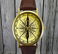 Vintage Compass Watch, Leather Watch,Ladies Watch,Men's Watch,Gift for Her,Gift Idea,Custom Watch,Fashion Accessory