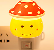 Creative Design Smile Face-shaped Ceramic Lamp Night Light Bedside Lamp Fragrance
