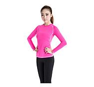Per donna Top Sport Traspirante / Asciugatura rapida Rosso S / M / L / XL / XXL Yoga - Altro
